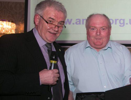 Denis Arundell wins Motorsport UK Marshal of the Year Award