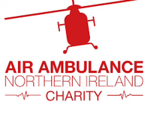 Fivemiletown Rally Raises £2000 for NI Air Ambulance